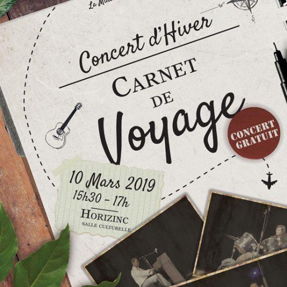 Concert d'Hiver de la Minote 2019