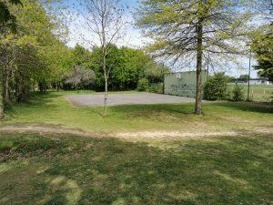 Terrain de basket du parc de La Minoterie